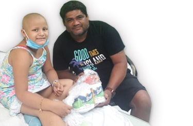 familias con paciente contra el cancer